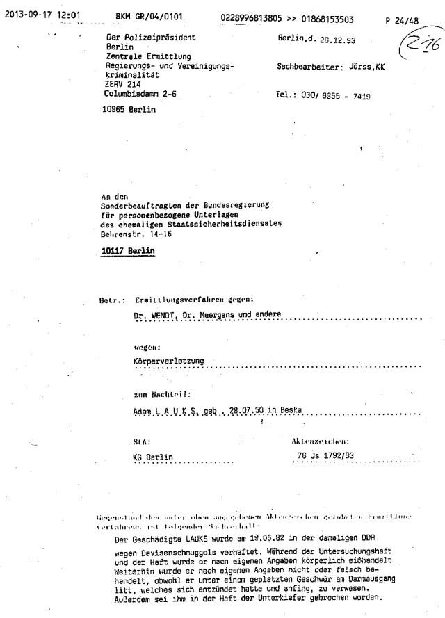Das Wort Folter und Übergriffe der Ärzte, Ärztepfusch gebraucht man nicht Gerne in Deutschland
