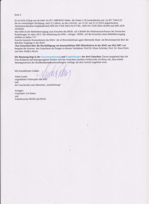 Es geht alles in den Behörden Vorgängen der BStU auf. Gauck  ging davon  aus, dass seine Umtriebe mit Sonderrechercheuren niemals auf Tageslicht gelangen !- Bis  2005 Informationsfreiheitsgesetz kam, war es so.