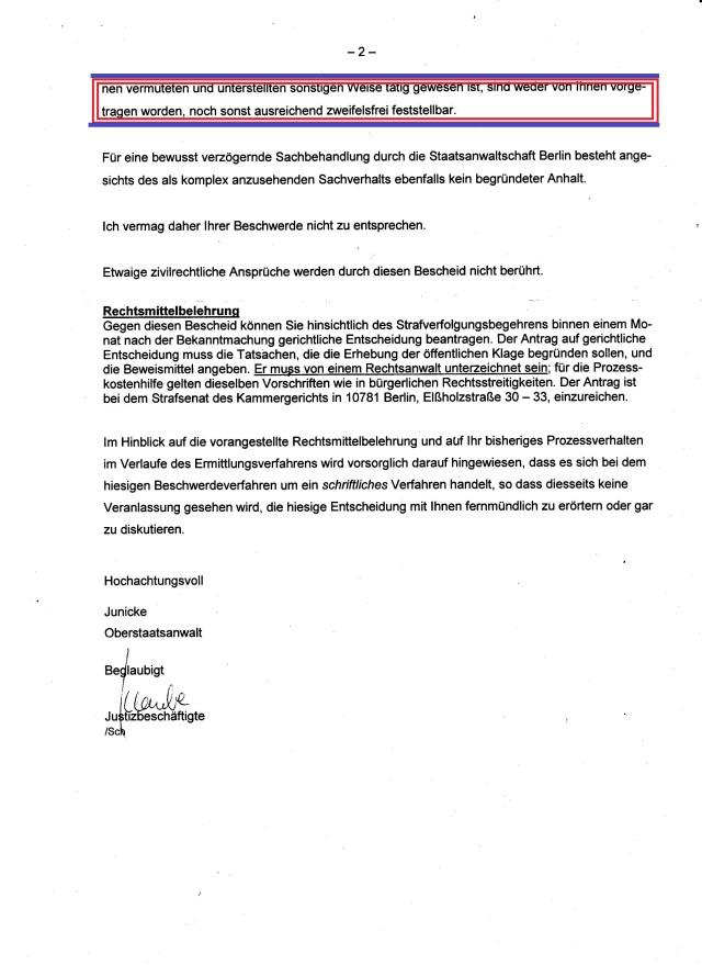 Die Begründung der GenStA hat sich gewaschen! - Auf der Stasi-Liste auf der Vater von RA Helge Bayer seinen Sohn gefunden hat sind an die 92.000 Mitarbeiter des MfS verzeichnet. Jetzt kommt e s soweit dass es nicht 90 sondern 79.000 Mitarbeiter des MfS gab !?