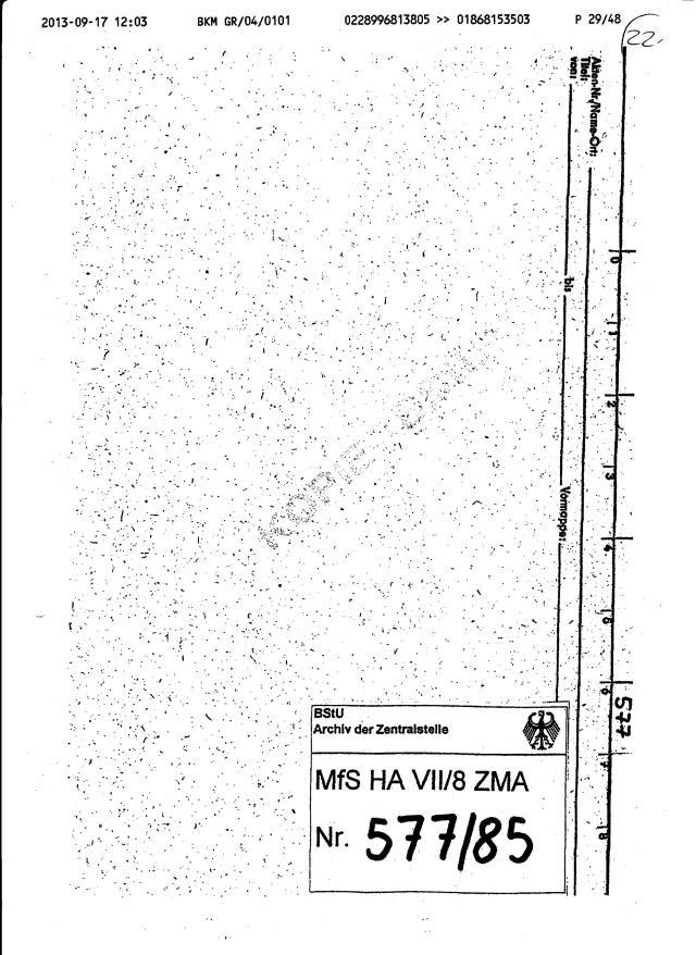 Fax des BKM an die BStU-Teile 007