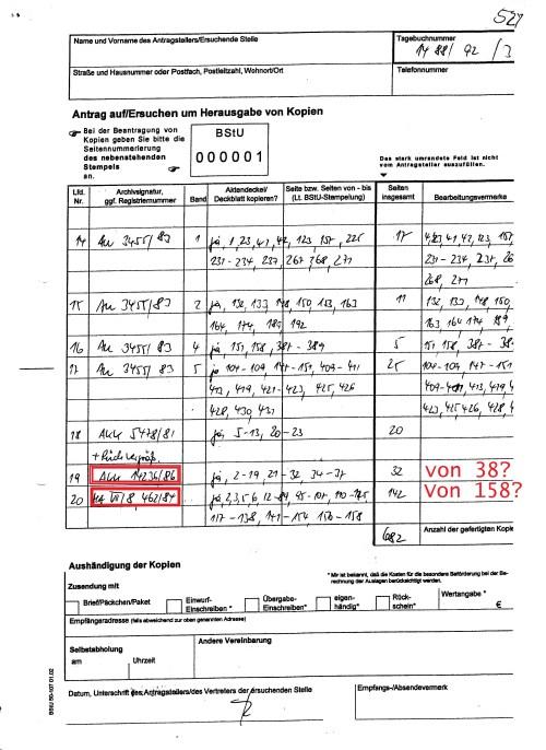 2011 hatte man vor - wie man sieht in der Pisition 26... von Insgesamt 5 Seiten mir 2 als Kopie zuzusenden, was bis 19.07.15 noch nicht geschah.