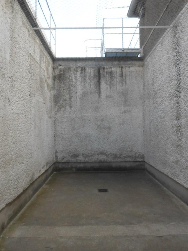 Als TIGERKÄFIG bezeichnet - ist eigentlich ein Freistundenhof in der U-Haft Berlin Hohenschönhausen