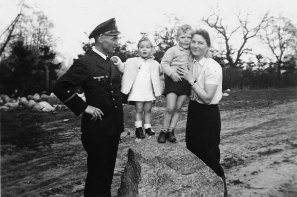 Gauck´s Familie beim Frontbesuch Ostern 1943