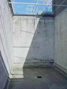 Freistundenhof in der Z HA des MfS Berlin Hohenschönhausen