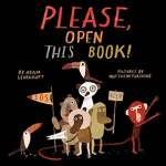 Please, Open This Book by Adam Lehrhaupt