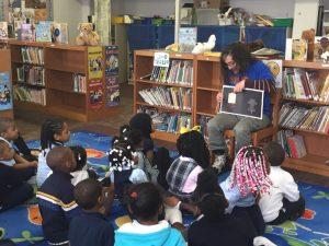 Samuel B Huey Elementary Author Visit