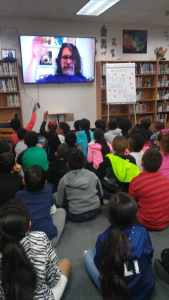 Cannaday Elementary Skype School Visit