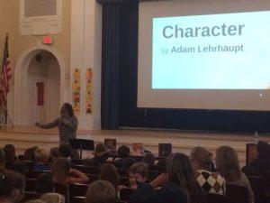 Ho-Ho-Kus Elementary author visit