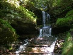 Horseshoe Falls - Waterfall main drop