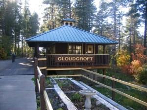 Cloudcroft - Old train depot (?) in Trestle Recreation Area