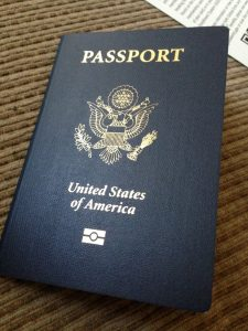 First time I needed a passport