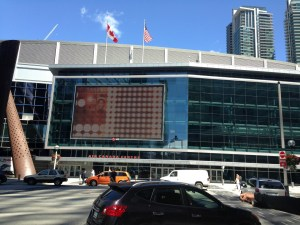 Outside the Air Canada Centre