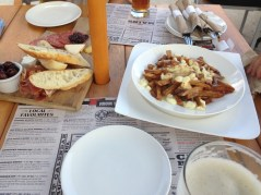 Food at the Amsterdam BrewHouse