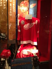 Redwings Display at Hockey Hall of Fame