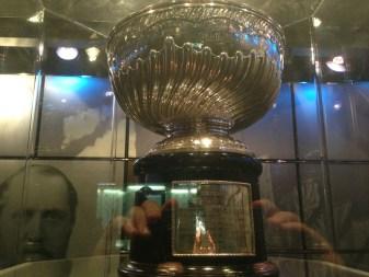 The original 1892 Dominion Hockey Challenge Cup