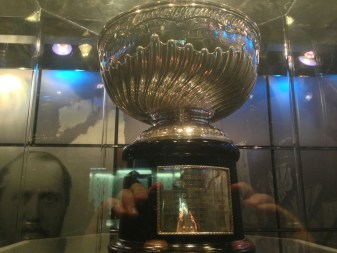 The original 1892 Dominion Hockey Challenge Cup
