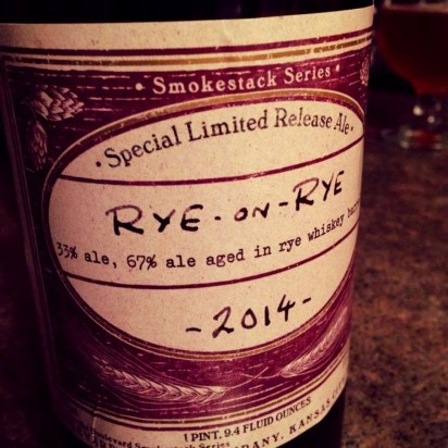 Nebraska Brewing Co - Rye on Rye 2014