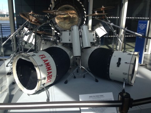 Alex Van Halen's drum kit