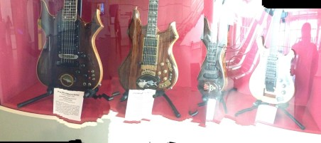 Jerry Garcia collection of guitars