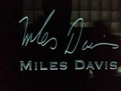 Miles Davis signature