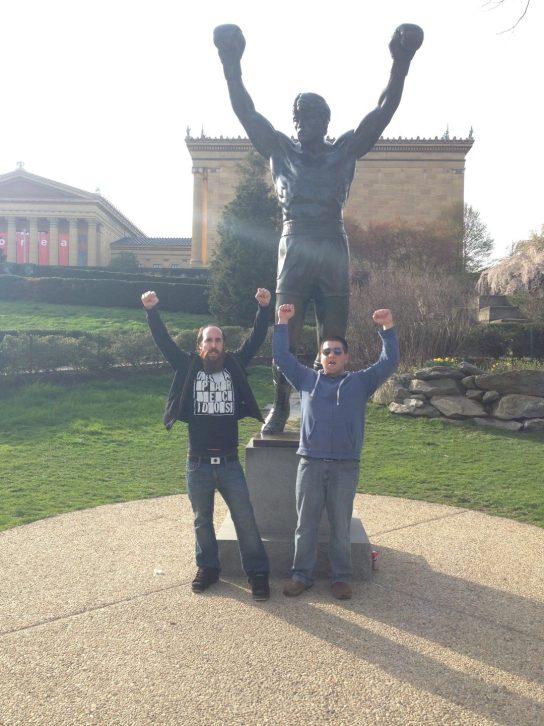 Rocky Statue at Philadelphia Museum of Art