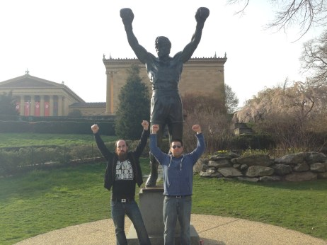 Rocky Statue at Philadelphia Museum of Art