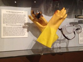Mike D. of the Beastie Boys Gloves and Goggles, 1999