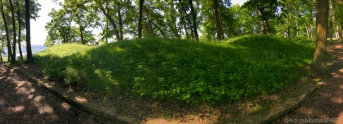 Effigy Mounds National Monument - Conical mounds near Fire Point
