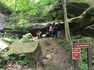 Wyalusing State Park - Big Sand Cave