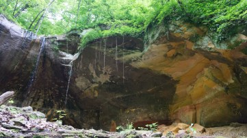 Wyalusing State Park - Pictured Rock Cave