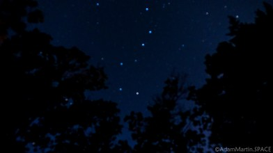 Mirror Lake State Park - Big Dipper view from campground