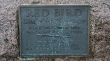 High Cliff State Park - Red Bird Statue