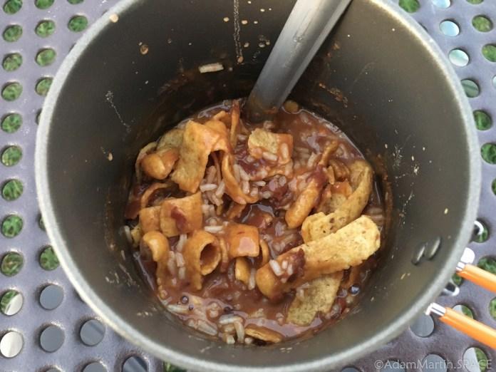 """Willow River State Park - """"Skurka Beans"""" dinner"""