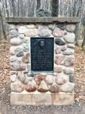 Timms Hill - Commemorative monument