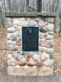 Timms Hill - Commemorative monument