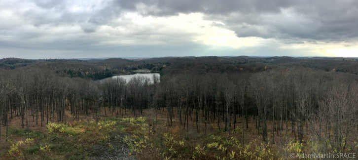 Timms Hill - Panorama View from tower