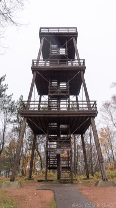 Rib Mountain State Park - Observation tower from below