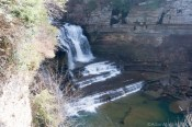 Cummins Falls State Park - Falls view from upper lookout point