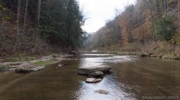 Cummins Falls State Park - Looking down the riverway