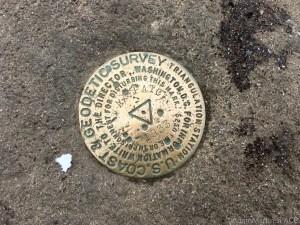Max Patch Mountain - USGS survey marker