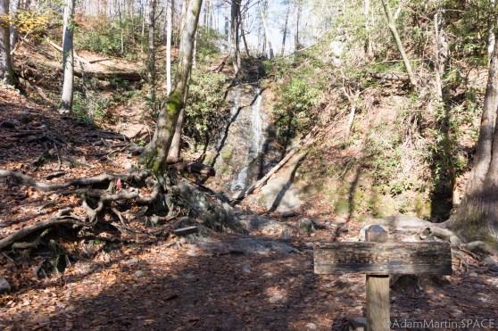 Cataract Falls - View at the falls