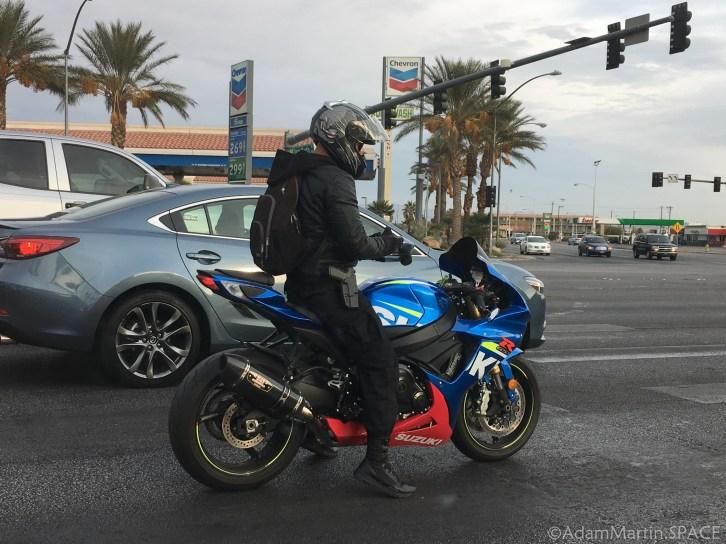 Las Vegas - Open Carry Biker