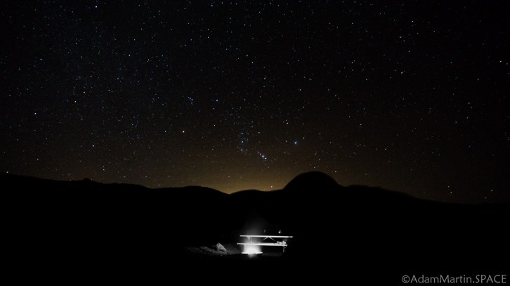 Death Valley - Stars over Texas Springs campground