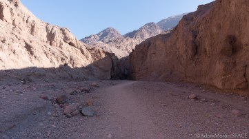 Death Valley - Natural Bridge canyon view