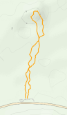 GaiaGPS hiking data @ Death Valley - Mesquite Flat Sand Dunes