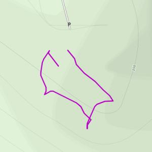 GaiaGPS hiking data @ Nelson Dewey State Park