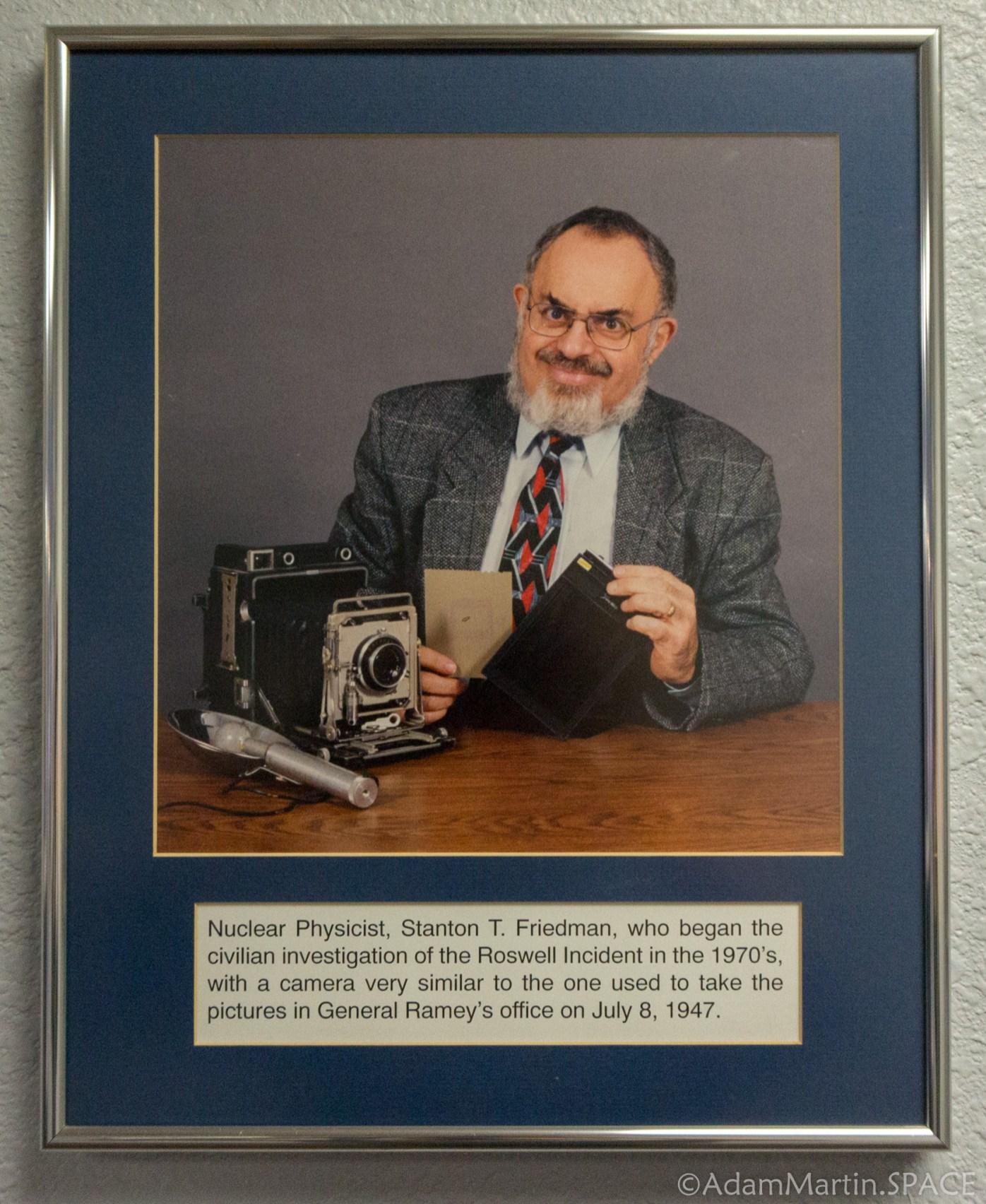 Roswell UFO Museum - Stanton T. Friedman