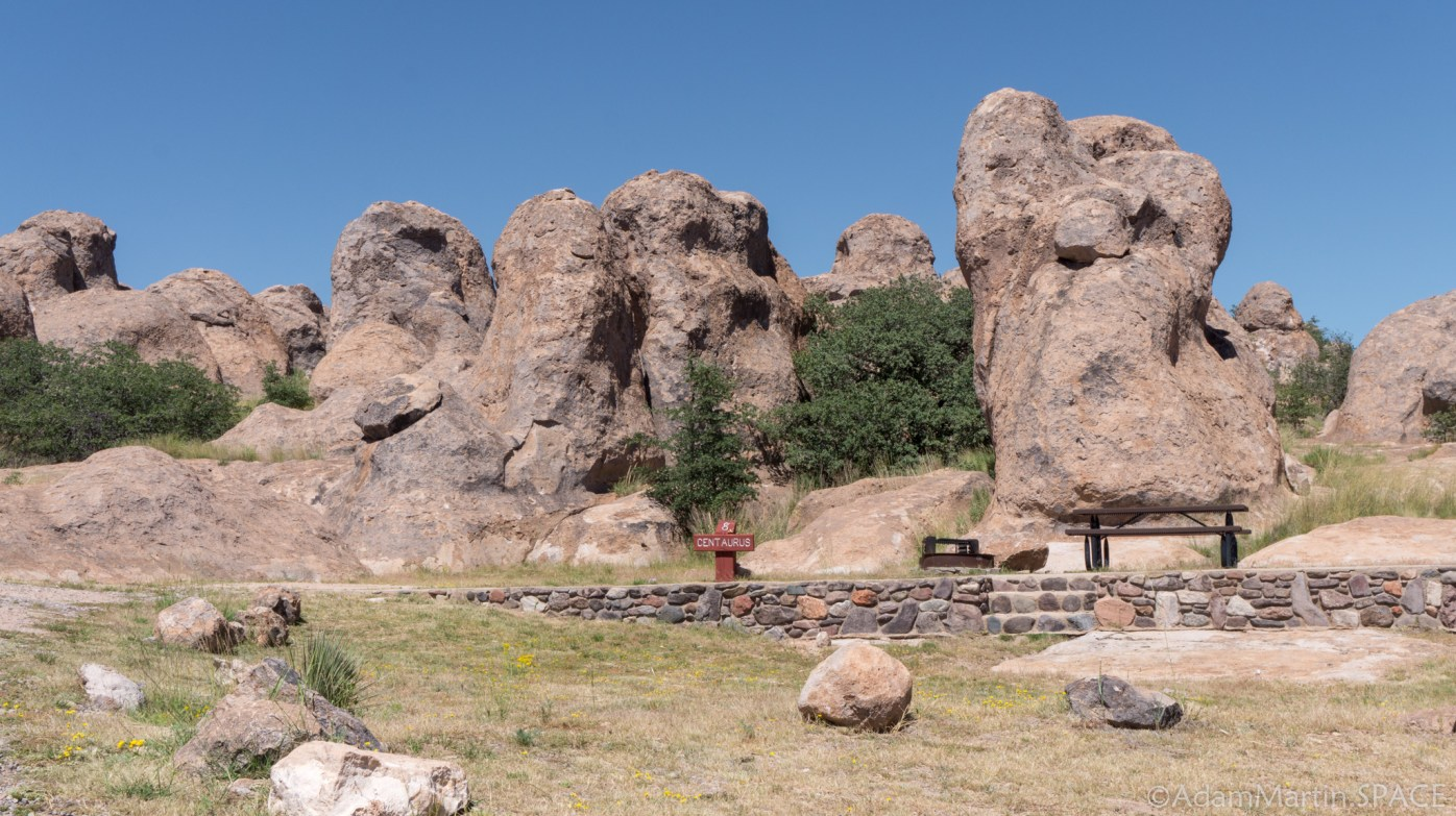 City of Rocks State Park – Camping area