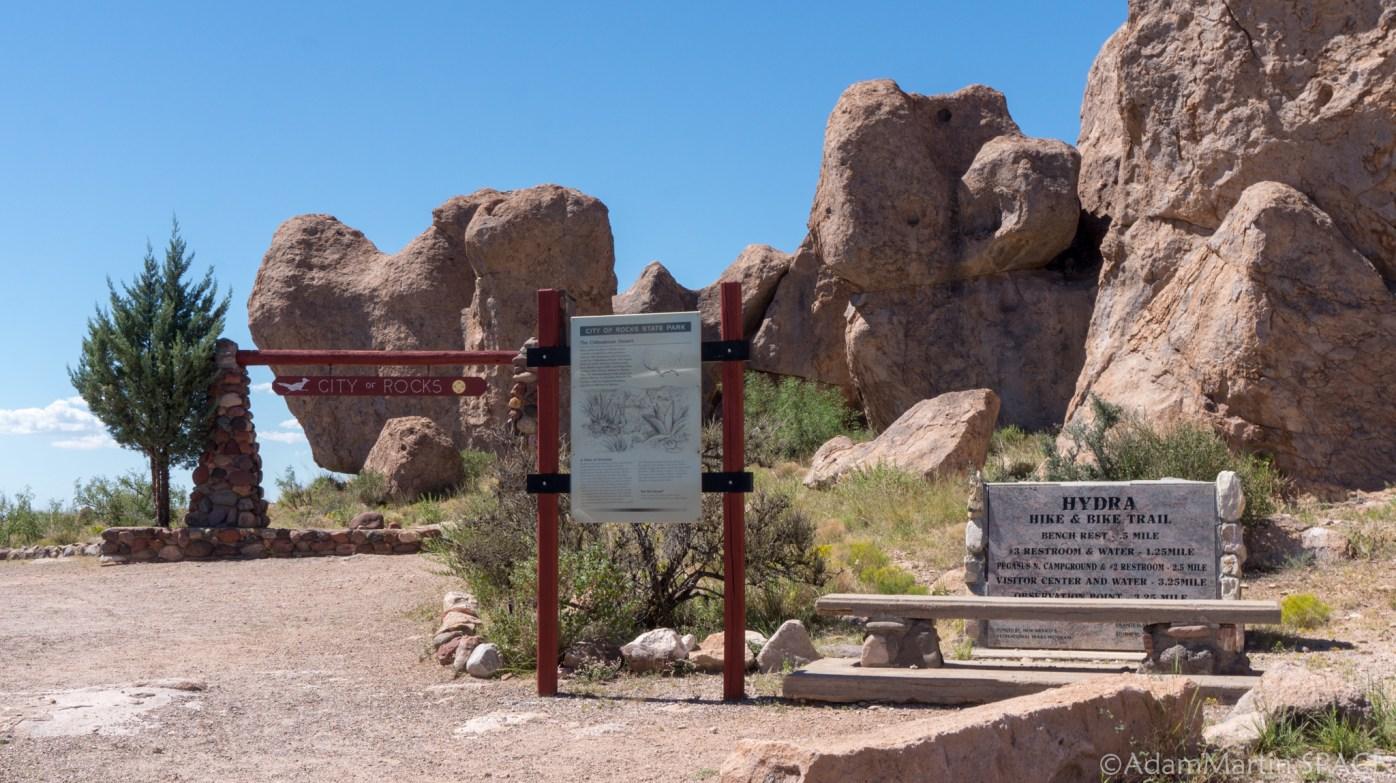 City of Rocks State Park – Main Trail Head