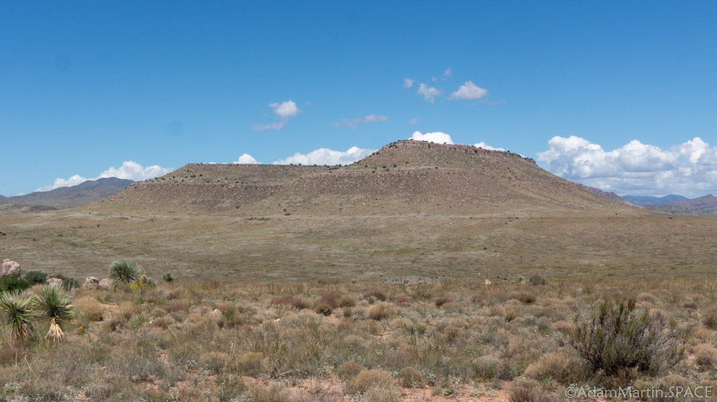 City of Rocks State Park – Distant Mesa